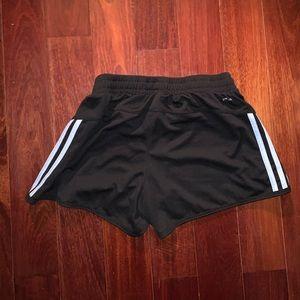 adidas Shorts - Adidas Women's Blue & Black Athletic Shorts